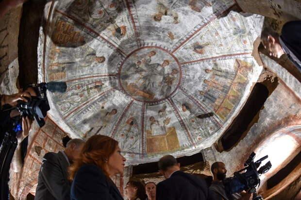 Античные фрески вскоре будут показаны туристам.
