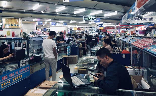 Китай - гигантская фабрика потребления