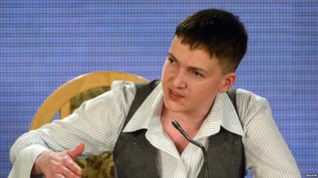 Надежда Савченко рассказала, как Киев сажает невиновных