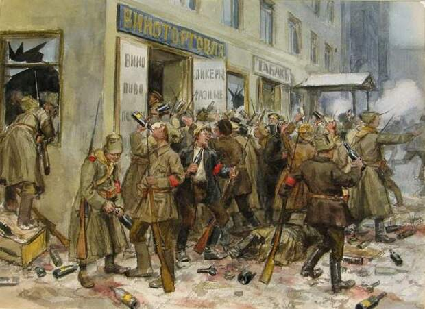 Революция 1917-го без прикрас: Разоблачающие хроникальные картины, которые 100 лет не показывали миру