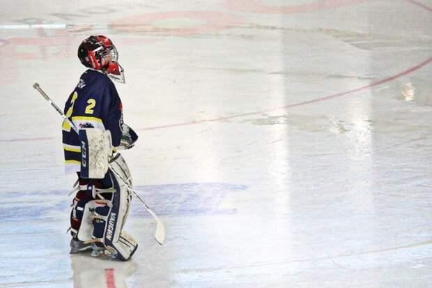 Хоккеисты «Вымпела» одержали победу над дегунинскими соперниками