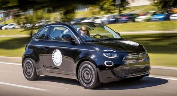 Fiat выпустит фургон на базе электрокара New 500