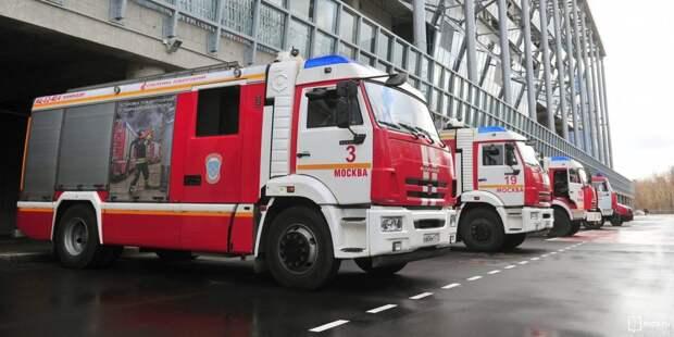 Два человека пострадали из-за загоревшегося матраца в квартире на Волоколамке