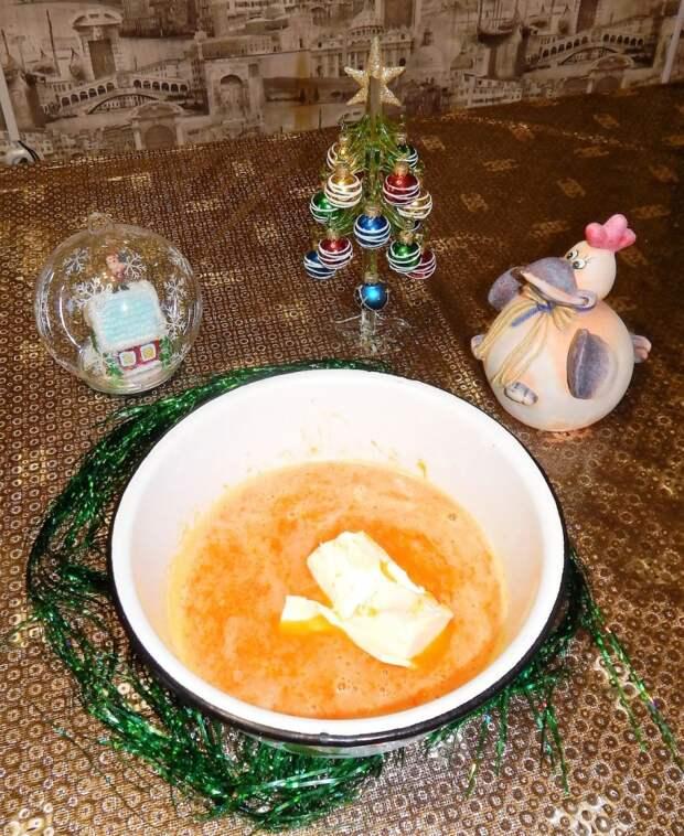 Тыквенные бабы в кофейной глазури