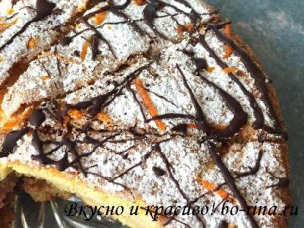 ВКУСНО И КРАСИВО! Апельсиновый торт с кремом Мокка