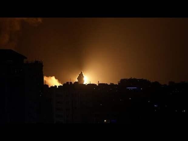 Сектор Газы в огне