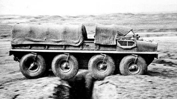 Преодолевание плавающей макетной машиной Э134 глубокой траншеи история, ссср, факты