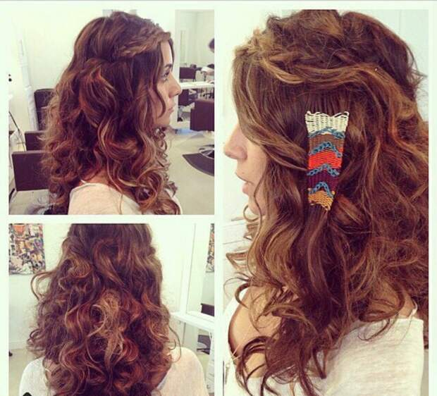 Гобелен в волосах