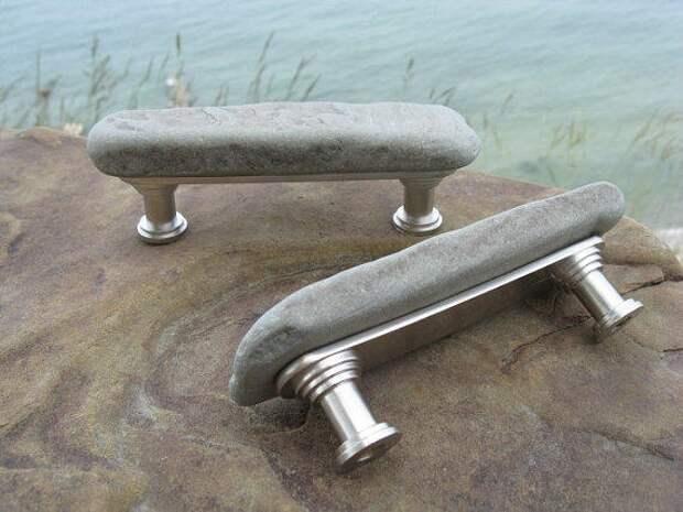 Каменные мебельные ручки (подборка)