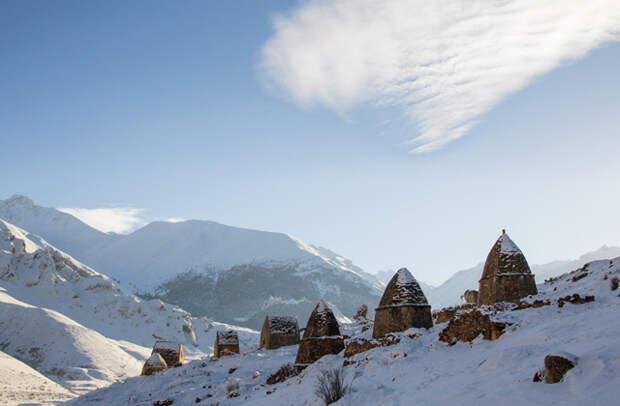северная осетия зима путешествие новый год