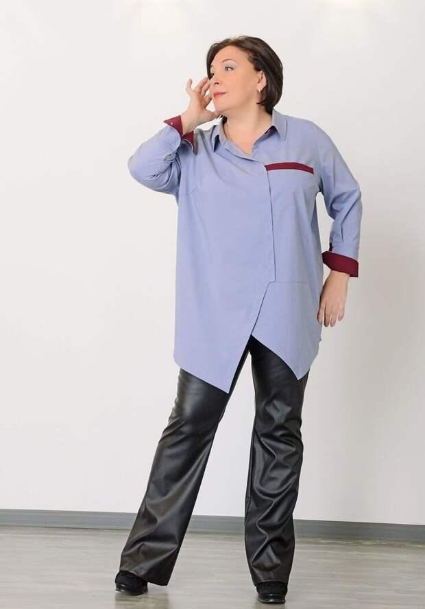 Рубашки для полных женщин 50. Выбираем и носим интересно