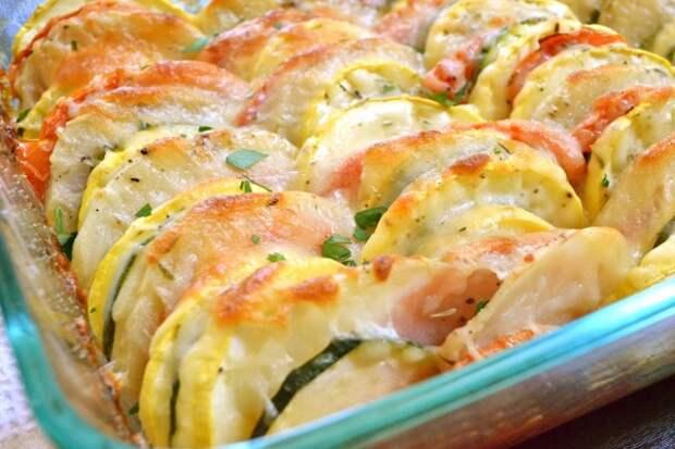Запеканка из овощей — минимум калорий, а на вкус объедение