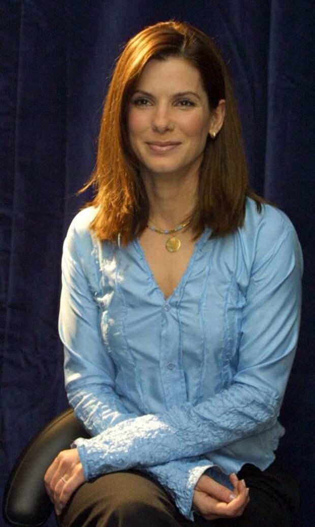 Актриса Сандра Баллок во всей своей красе.