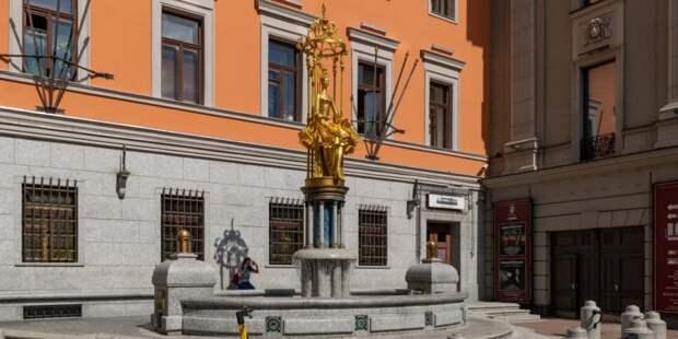 Знаменитый фонтан «Принцесса Турандот» на Арбате отремонтируют