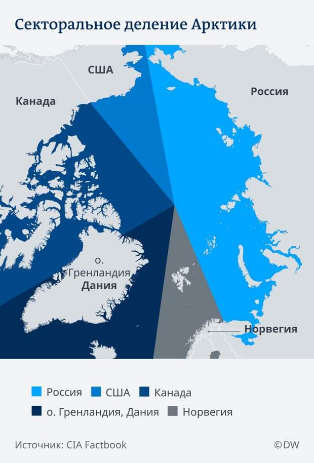 США по-настоящему включились в гонку за ресурсы Арктики