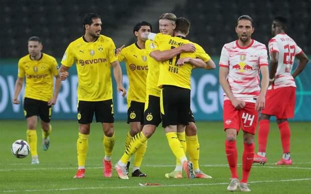 Дортмундская «Боруссия» разгромила «РБ Лейпциг» и в 5-й раз завоевала Кубок Германии