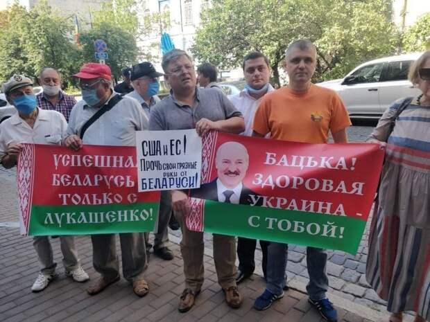 Украинцы вступились за Беларусь, пообещав Западу серьезные проблемы