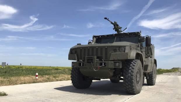 Бронеавтомобиль «Тайфун» пополнит ряды армейского спецназа ВС РФ