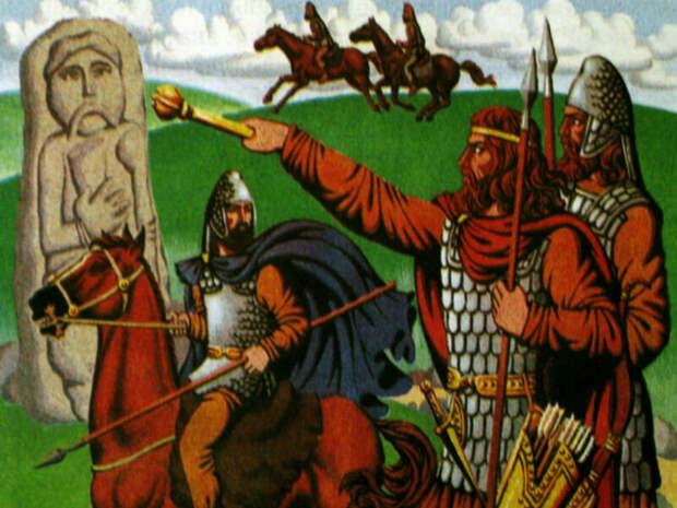 Аполлон: как славяне своим богом с античным миром поделились…