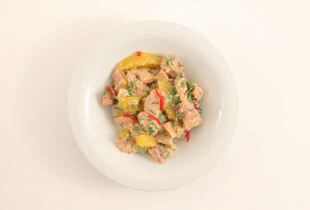 Фото приготовления рецепта: Севиче из горбуши - шаг 5