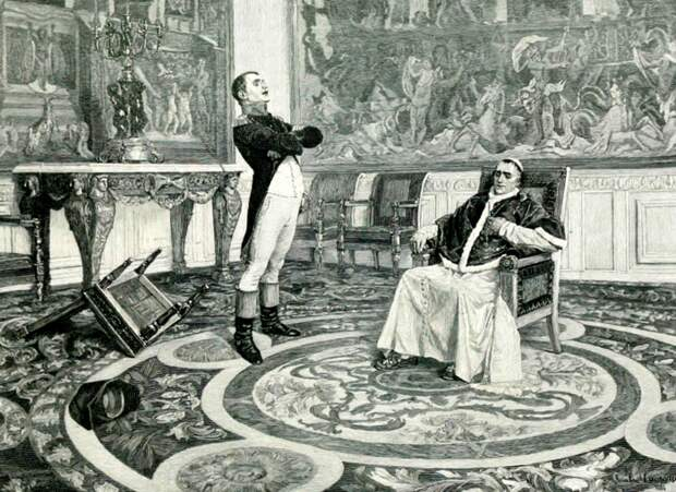 4 исторических факта о том, почему Наполеона отлучили от церкви