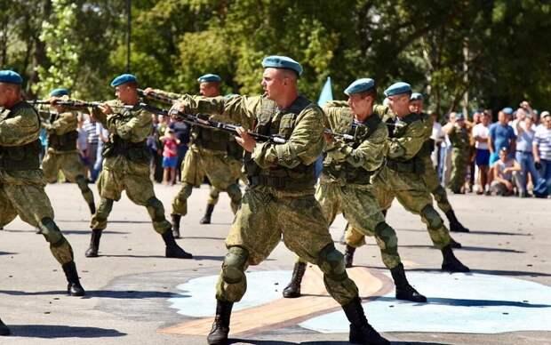 «Зеленые береты» оценили российских десантников