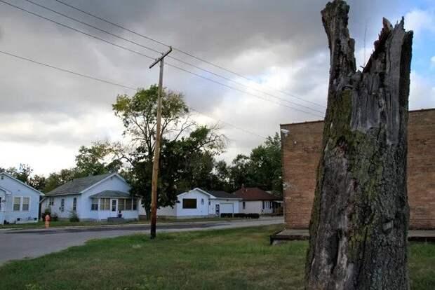 Район, где проживала семья