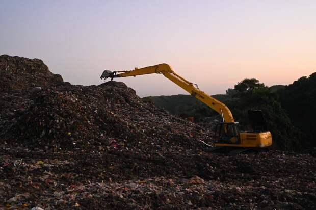 Переработку мусора хотят начать в заваленном отходами Севастополе
