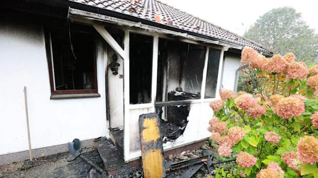 Из-за долгов по коммуналке: немец взорвал свой дом