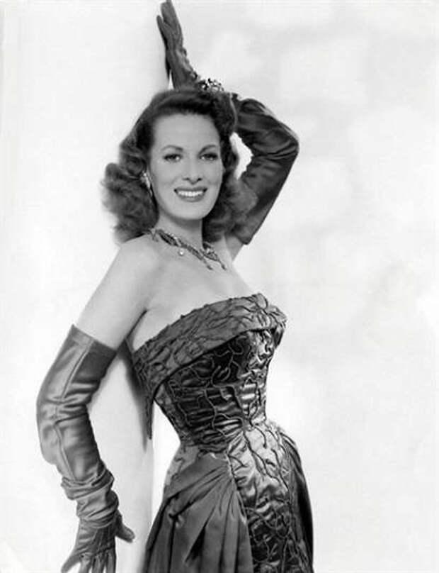Красотка из Старого Голливуда Морин О`Хара
