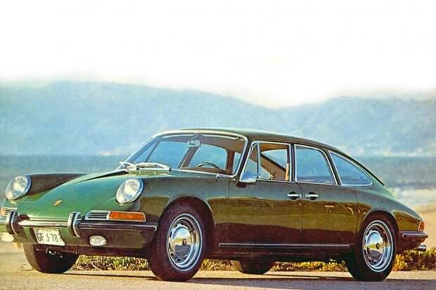 Седан Porsche 911 авто, автодизайн, дизайн, интересно