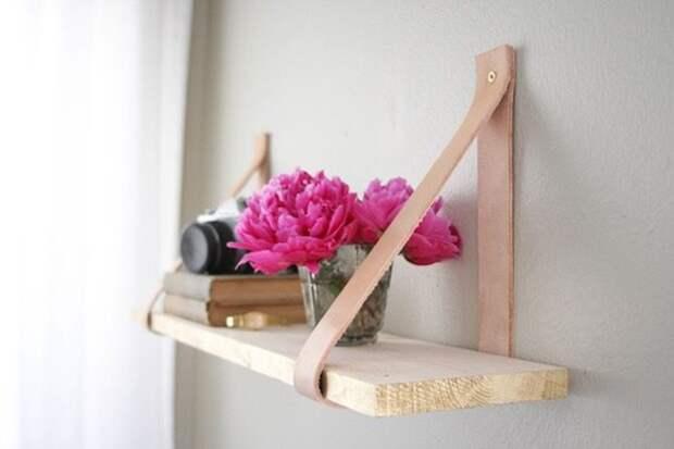 Необычные идеи для домашних полочек