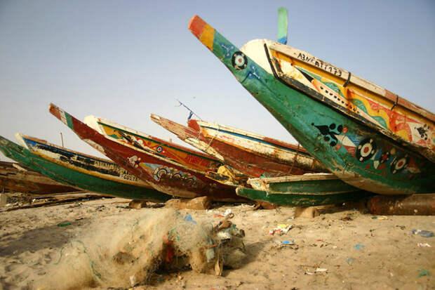 Порт в Нуакшоте, Мавритания красота, путешествия, фото
