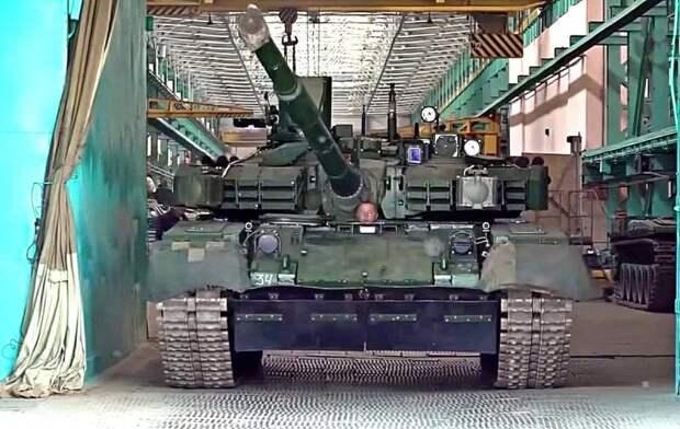 В 2023 году на Украине появится действительно современный танк на базе «Оплота»