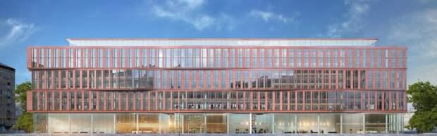 Вторая фаза строительства бизнес-центра у метро «Сокол» завершится до конца года