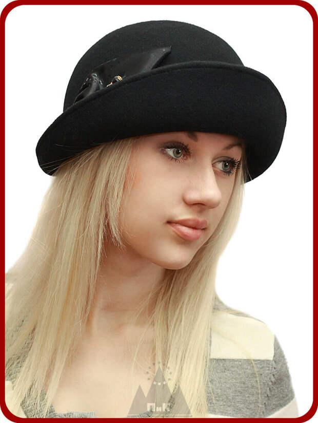 Шляпка лаконичного дизайна