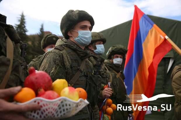 Изгнать русских миротворцев! — в Азербайджане нацистская истерика из-за безобидной акции Армии России (ВИДЕО)