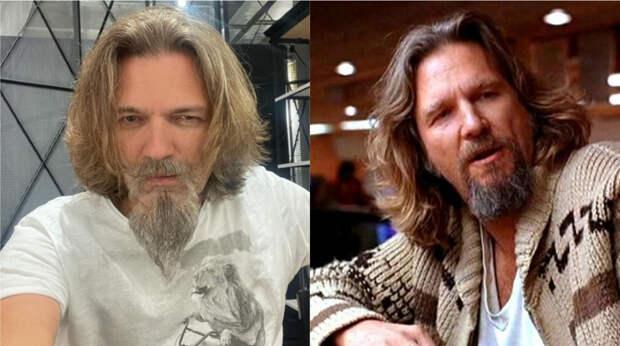 Дмитрий Маликов отрастил бороду и стал похож на Лебовски