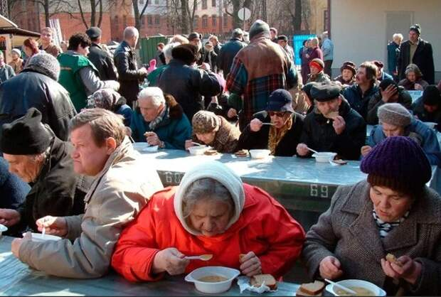 Российские власти отчитались о победе над нищетой