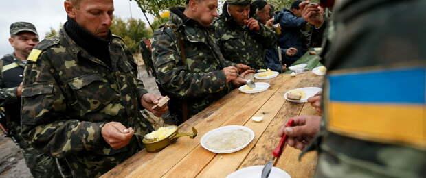 «Кормят один раз в день». ВСУ остались без полноценного питания