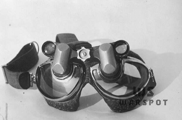 Очки-бинокль, которые испытывались осенью 1940 года - Летающие глаза артиллерии   Warspot.ru