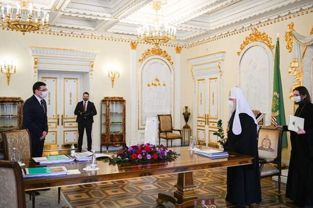 Глеб Никитин пригласил Патриарха Кирилла наторжества вчесть 800-летия Нижнего Новгорода