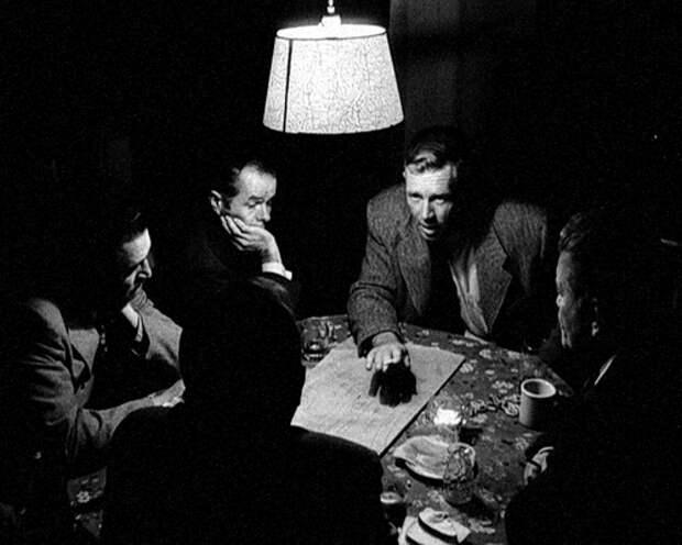 Кадр из фильма Стэнли Кубрика «Убийство» (1956)