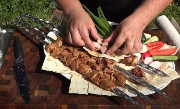 Шашлык на кипятке: старинный узбекский рецепт сочного мяса