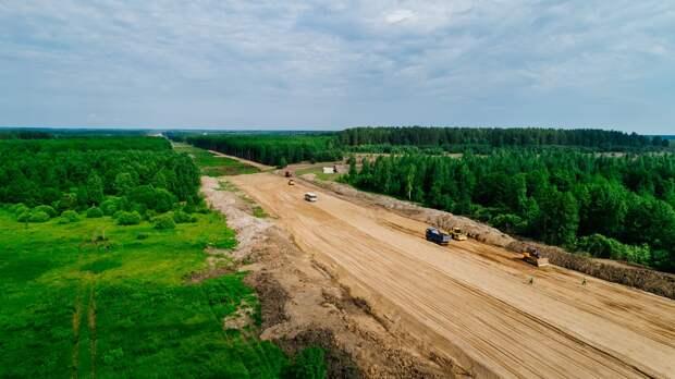 По поймам рек Оки и Суры пройдет 40 километров трассы М-12