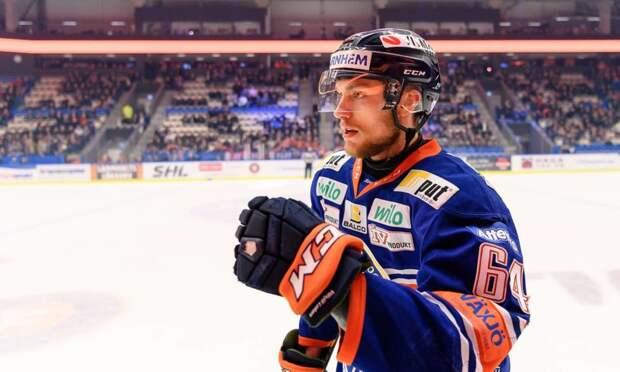 Шведский защитник Мартинссон подписал контракт с «Барысом»