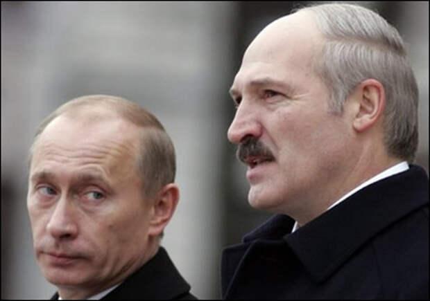 Путин Лукашенко (2009)| Фото:naviny.by