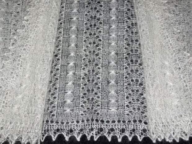 почему оренбургские платки связанные из тончайших