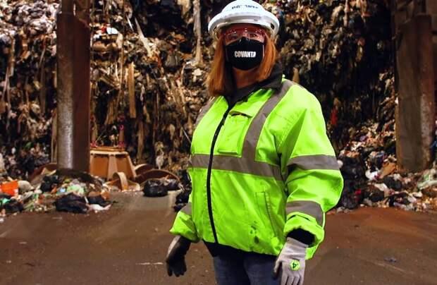 Видео: Сколько мусора производят ньюйоркцы за 3 дня, и как его утилизируют