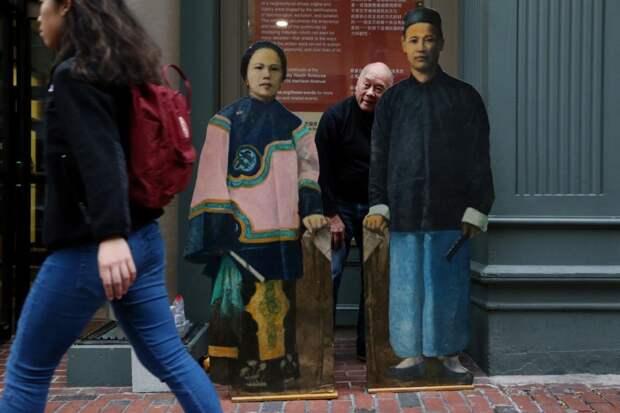Атмосфера Театрального квартала в Бостоне